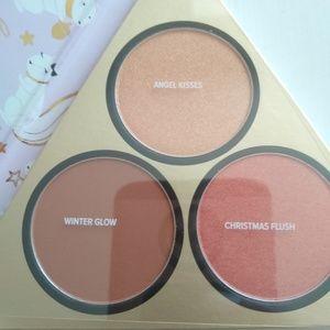 NWOT makeup Too Faced Blush, highlighter, bronzer